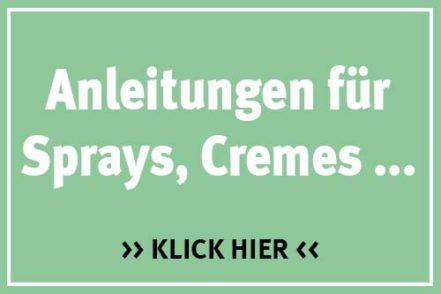 DIY - Anleitungen für Spray, Cremes, Shampoos...