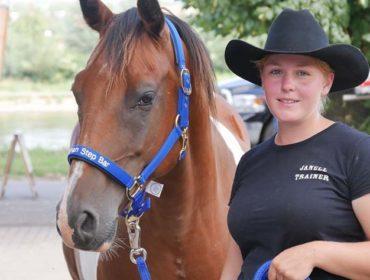 Janell Baader - Mustang Makeover - Western Inn - Wilsdruff - Westerntraining