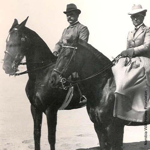 Emil Kreplin und seine Frau in Kabub