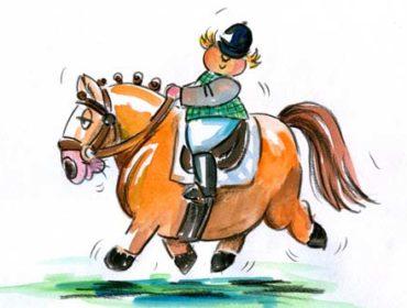 Wie viel darf ein Pferd tragen?