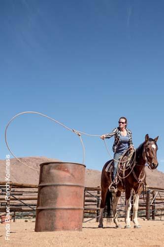 Roping - Basisübungen vom Pferd aus