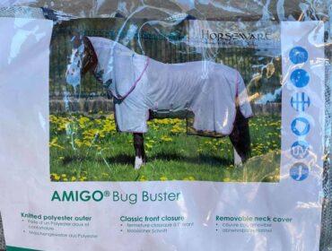 UV-Schutzdecke Amigo Bug Buster silver/navy
